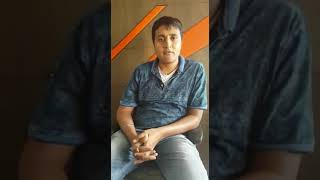 Mr. Divyank Nayak -  Testimonial